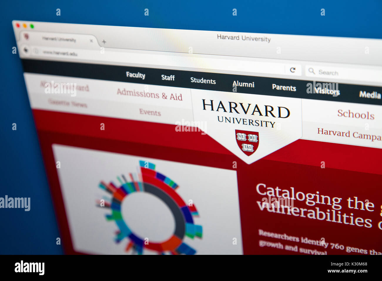 Harvard University Official Website