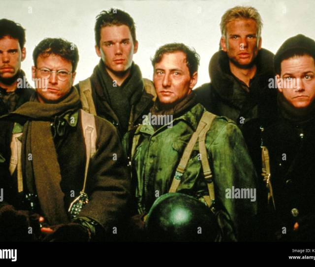 A Midnight Clear Us Kevin Dillon Gary Sinise Ethan Hawke Ayre Gross Peter Berg And Frank Whaley A Beacon Communications