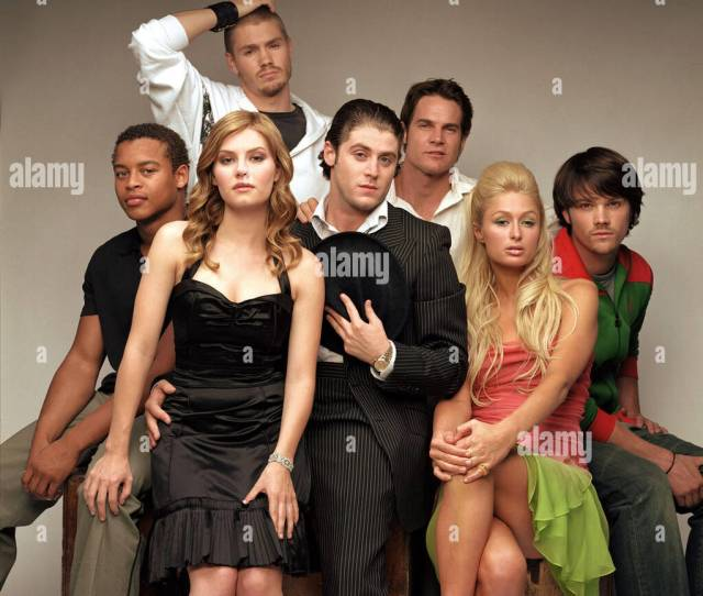 House Of Wax Robert Rihard Elisha Cuthbert Jon Abrahams Paris Hilton Jared Padalecki L R Back Row Chad Michael Murray Brian Van Holt