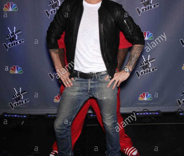 Press Conference For The Voice Season 2 Held At Sony Studios In Culver City Ca