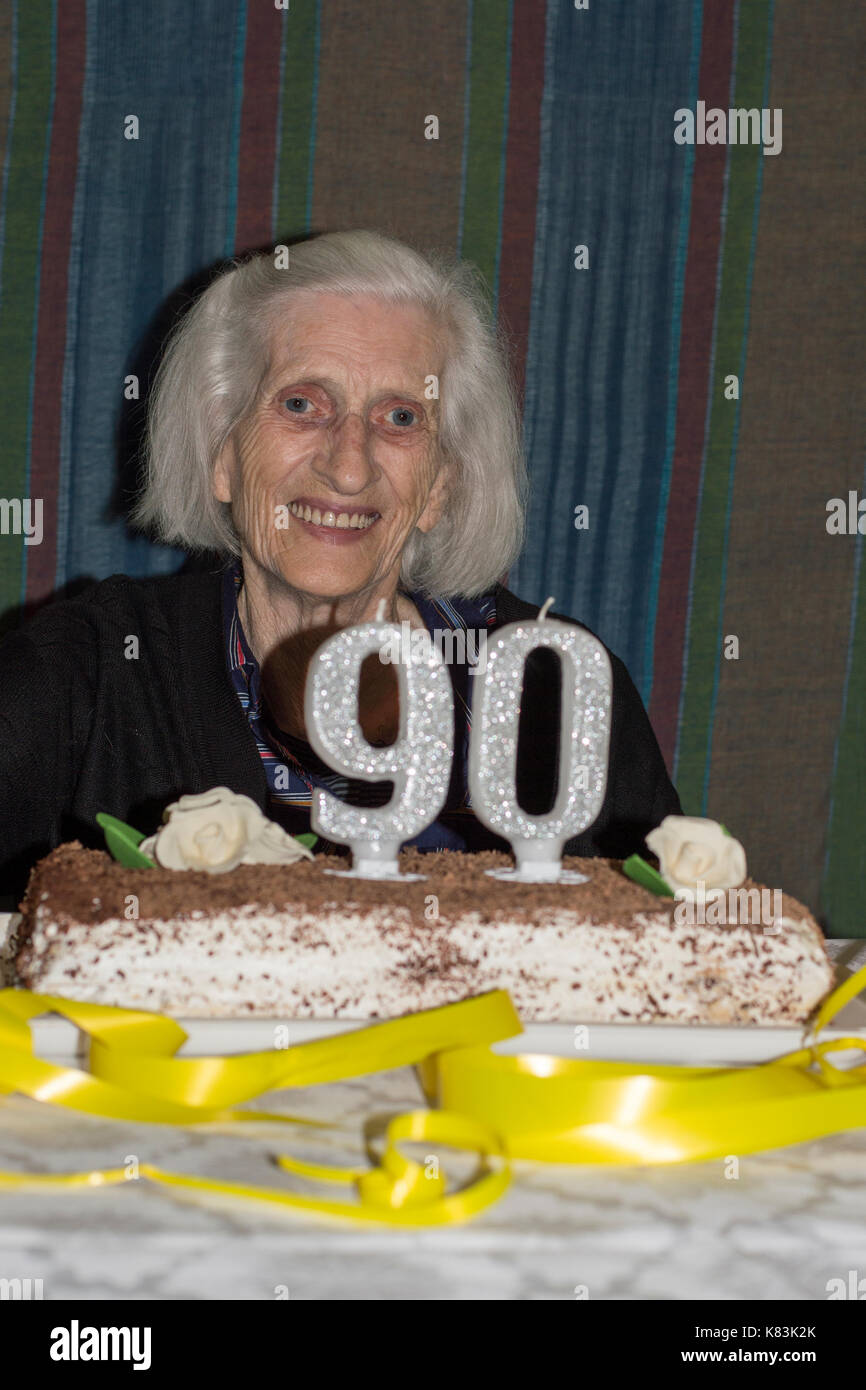 90 Birthday Cake High Resolution Stock Photography And Images Alamy