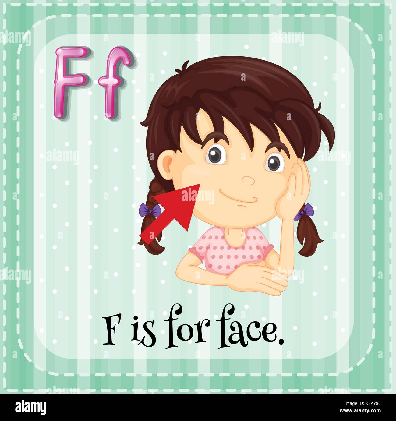 Cartoon Letter F Stock Photos Amp Cartoon Letter F Stock