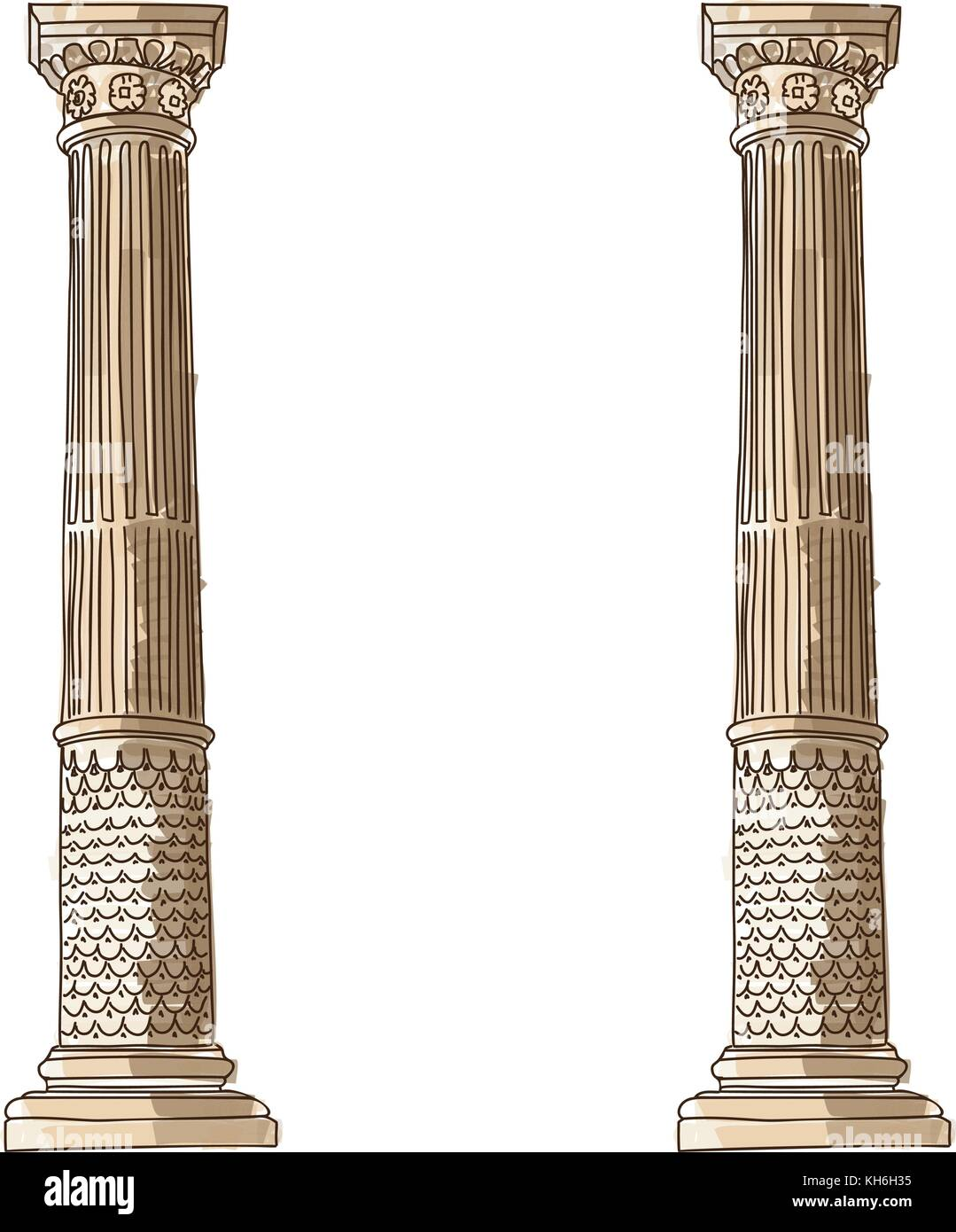 Doric Ionic Corinthian Order Greek Architecture Doric
