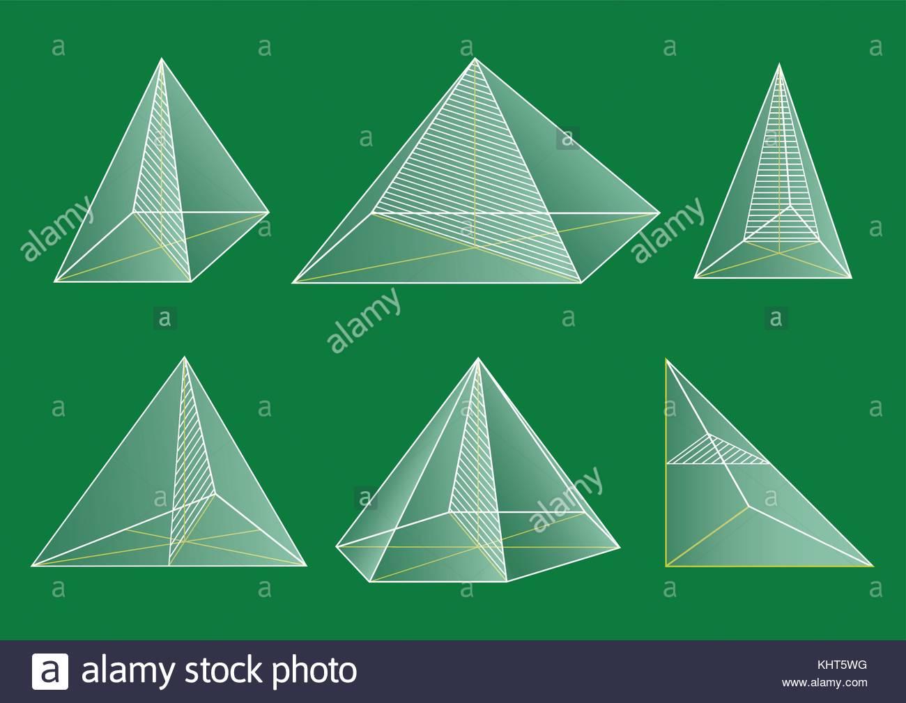 Shape Pyramids Tetrahedron Pyramid Stock Photos Amp Shape