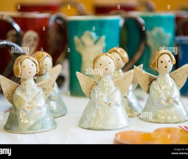 Christmas Decorations Cute Ceramic Angels