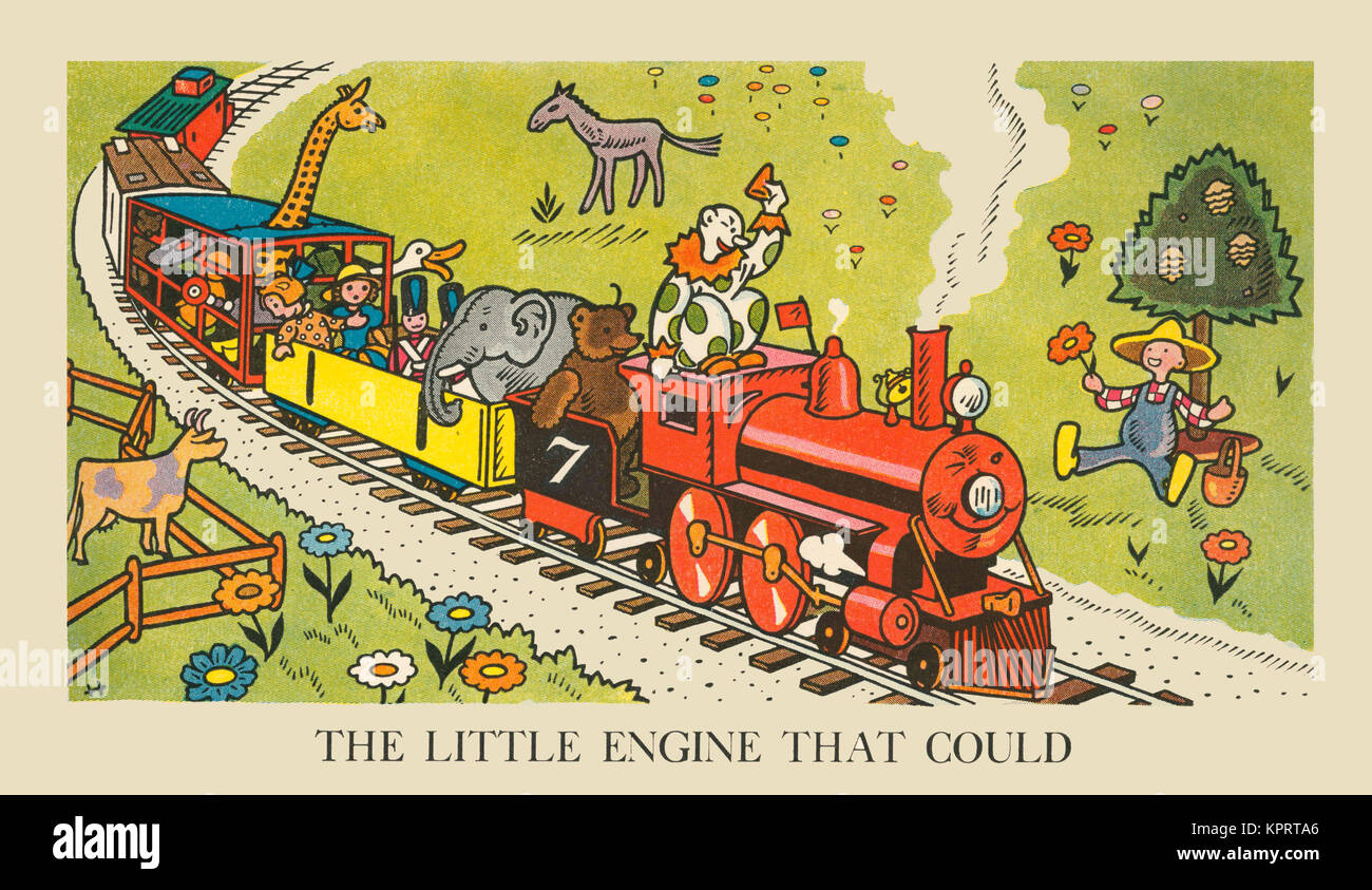 The Little Engine That Could Stock Photo