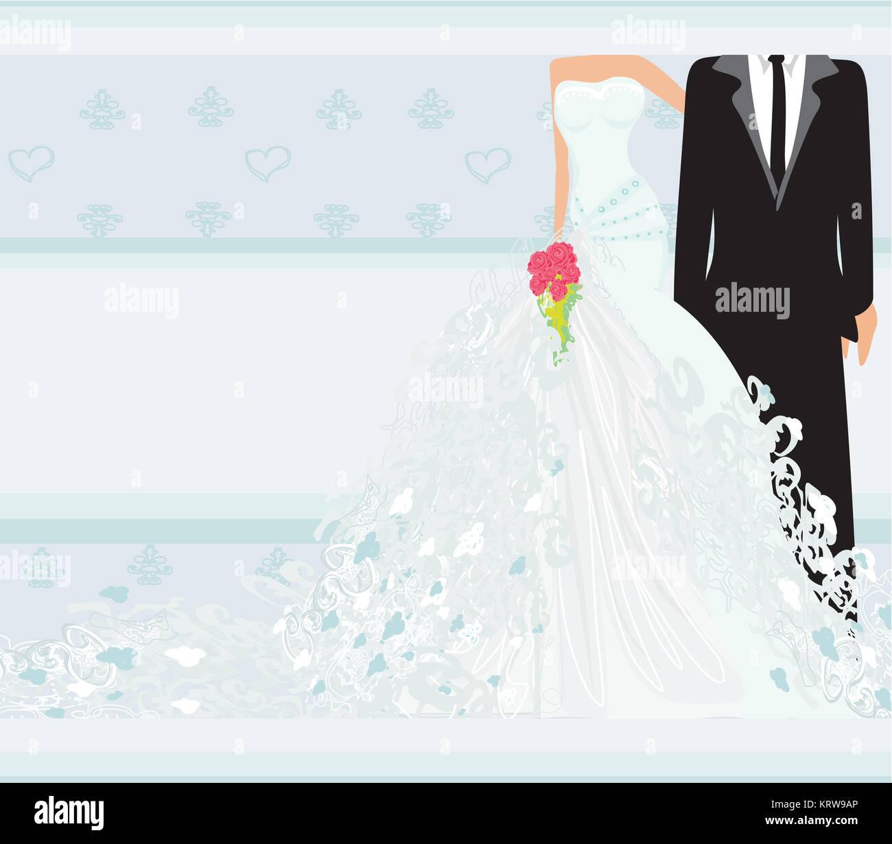 https www alamy com stock image stylish wedding invitation card with vintage ornament background 169586558 html