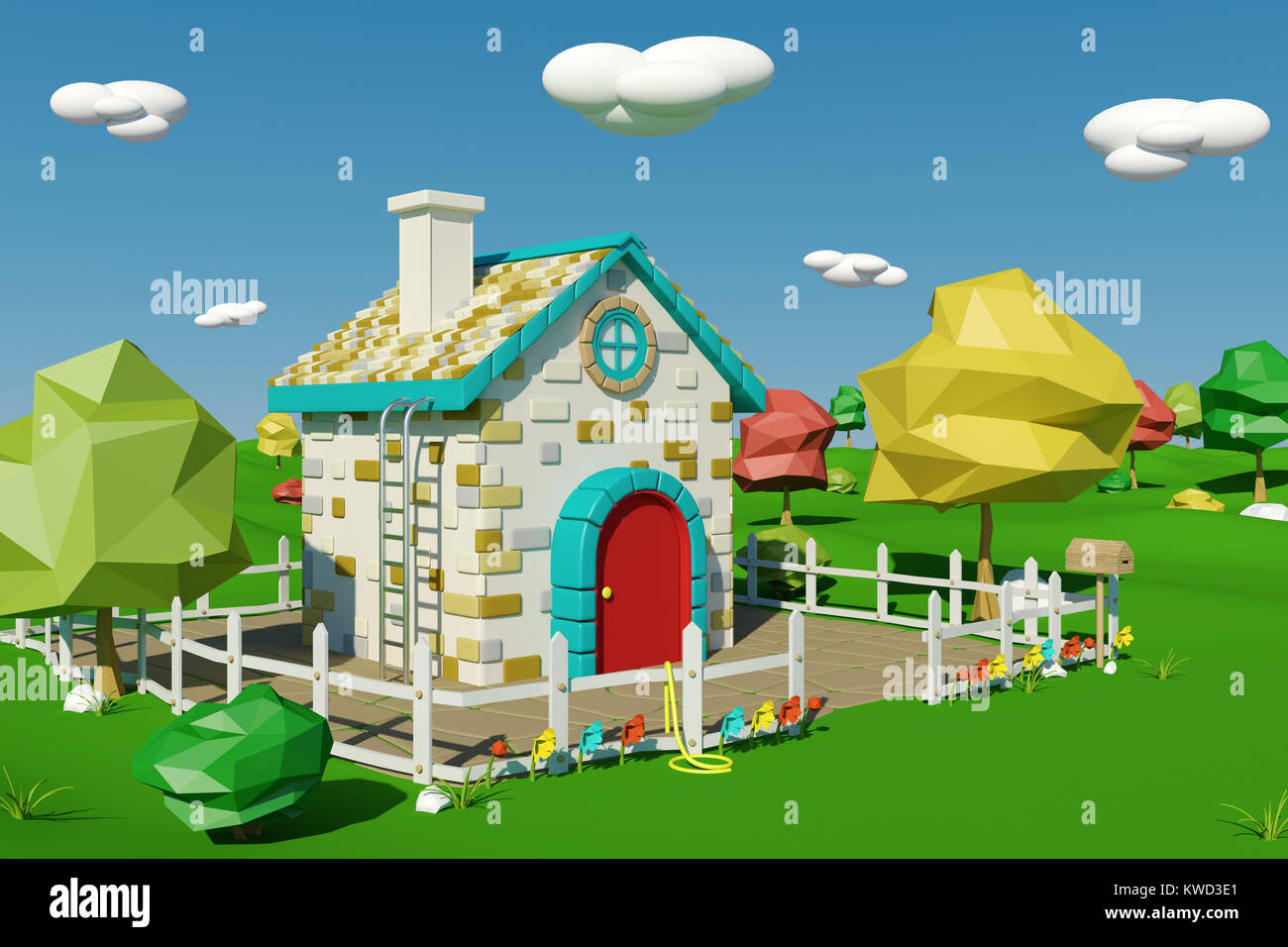 Cartoon House Stock Photos Amp Cartoon House Stock Images