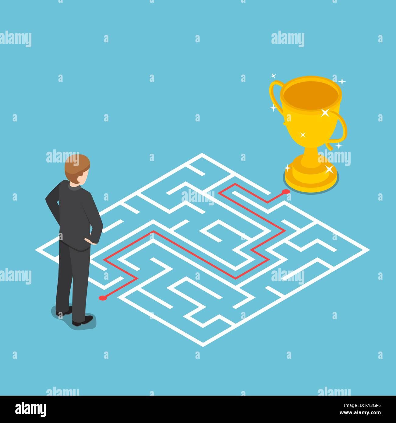 Cartoon Maze Labyrinth Game Stock Photos Amp Cartoon Maze