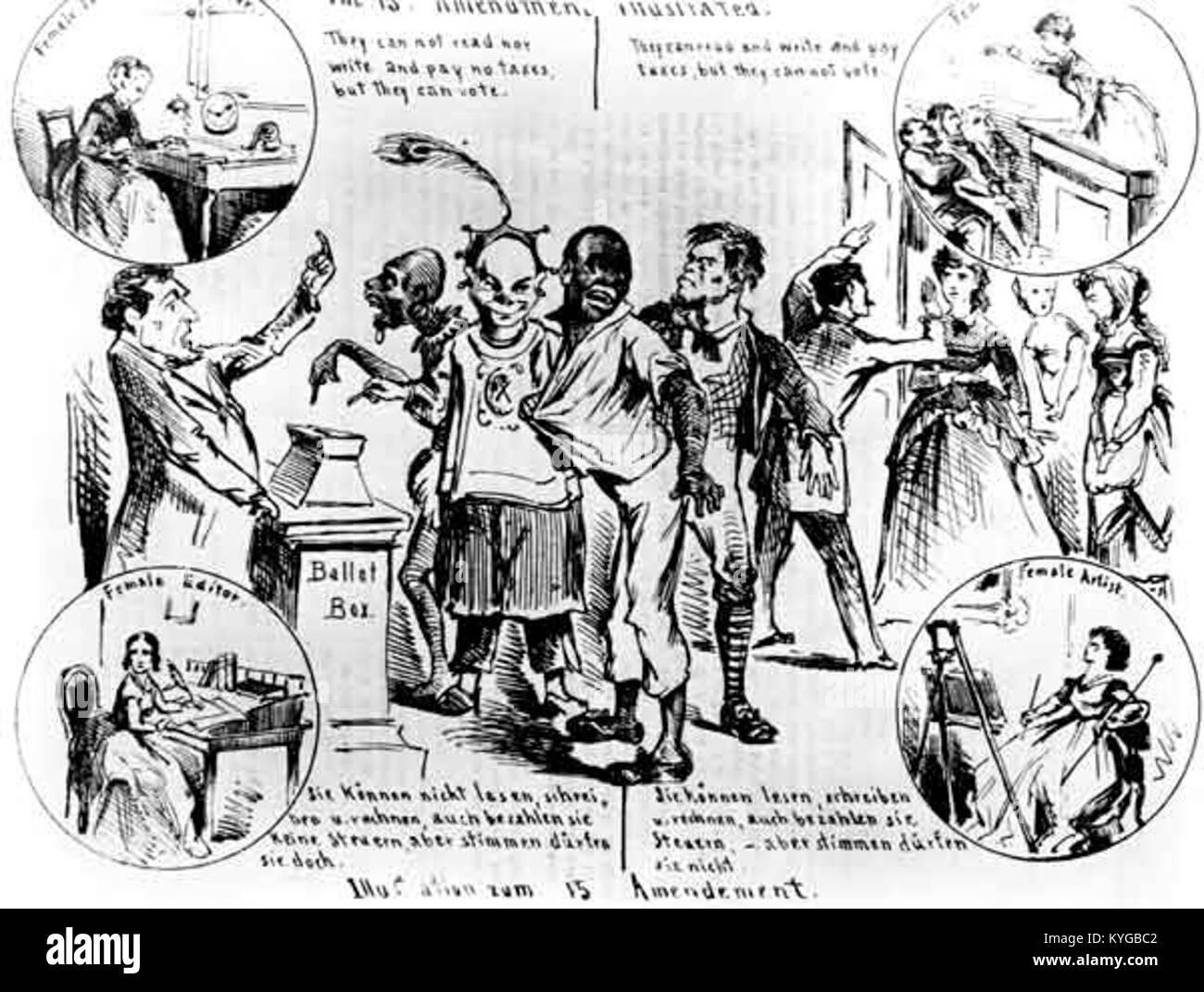Womens Suffrage Cartoon Stock Photos Amp Womens Suffrage