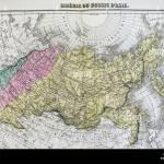1877 Migeon Map Russia Siberia Asia Arctic Ocean Ural Mountains Stock Photo Alamy