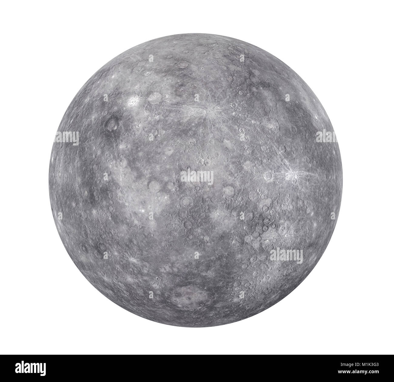 Planet Mercury Isolated Elements Of This Image Furnished