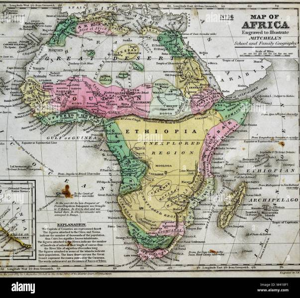South Sudan Map Stock Photos   South Sudan Map Stock Images   Alamy 1839 Mitchell Map   Africa   Guinea Sudan Ethiopia Egypt Liberia Congo Cape  Colony South Africa
