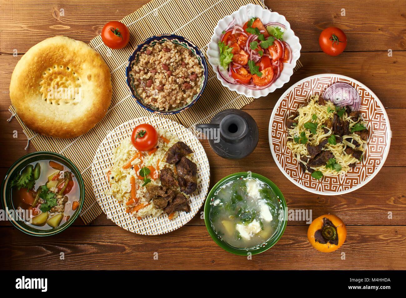 Tajik Cuisine Stock Photos Tajik Cuisine Stock Images