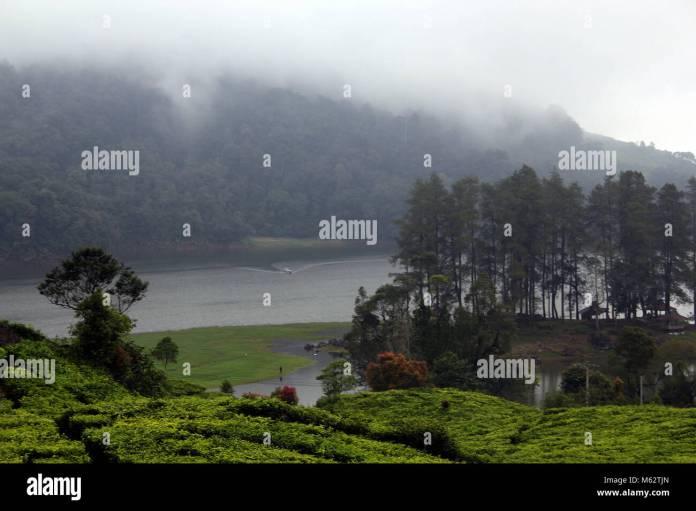 Situ Lake Patenggang Tourist Attractions In Kabupaten Bandung Stock Photo Alamy