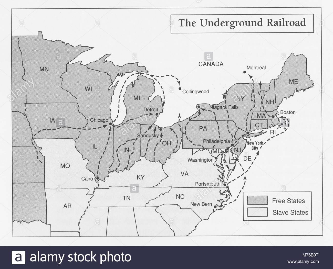Underground Railroad Stock Photos Amp Underground Railroad Stock Images