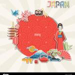 Japan Background Design Stock Vector Image Art Alamy