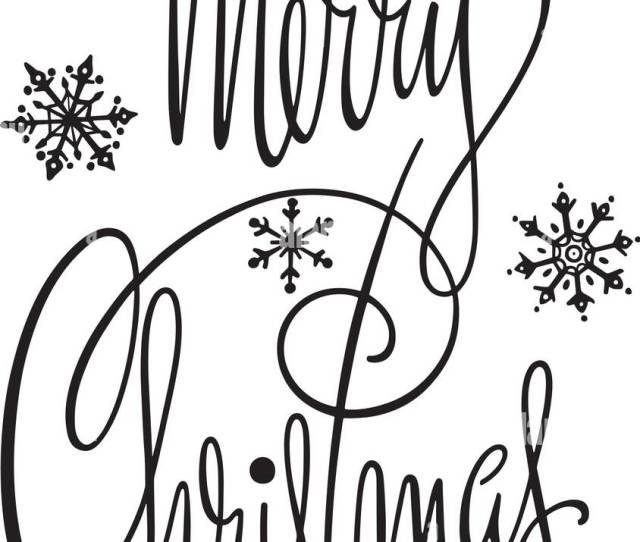 Merry Christmas Banner Retro Clipart Banner