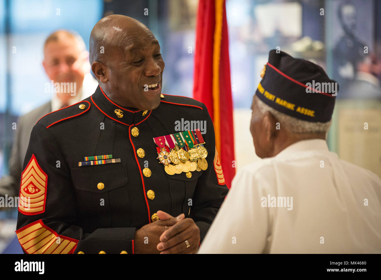 Sergeant Major Of The Marine Corps Ronald L Green Speaks