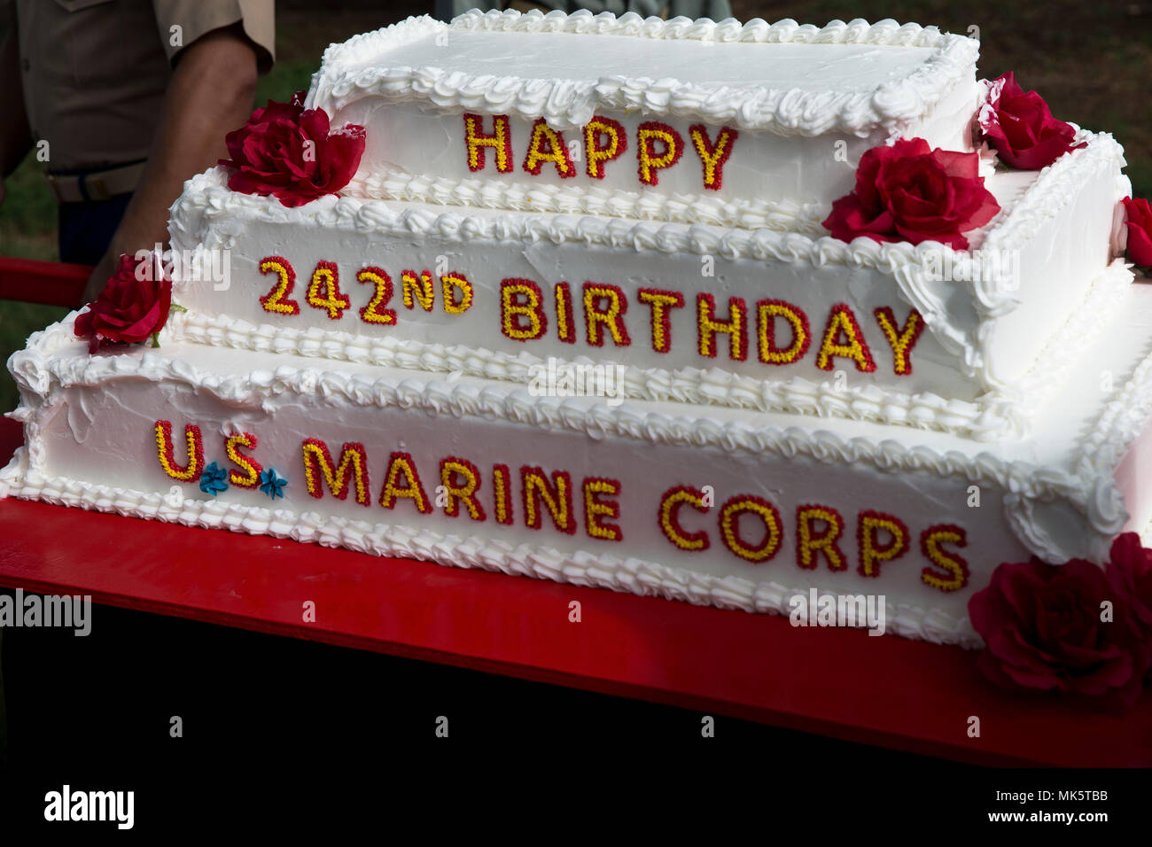 Marine Corps Birthday Cake High Resolution Stock Photography And Images Alamy