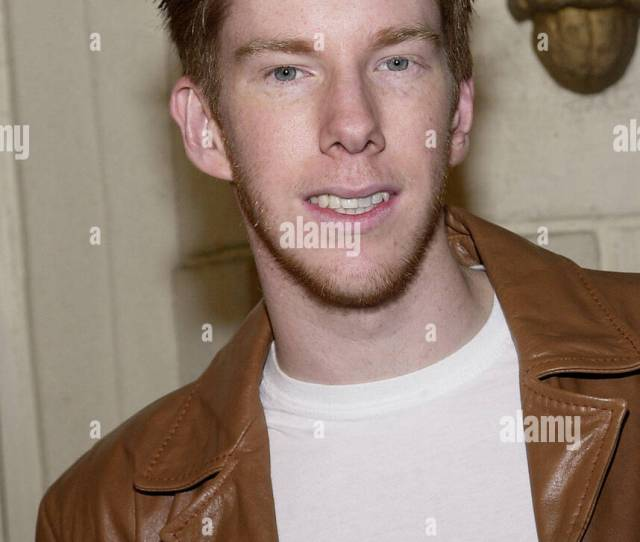 Chris Owen Arriving At The Premiere Of Get Over It In Westwood Los Angeles