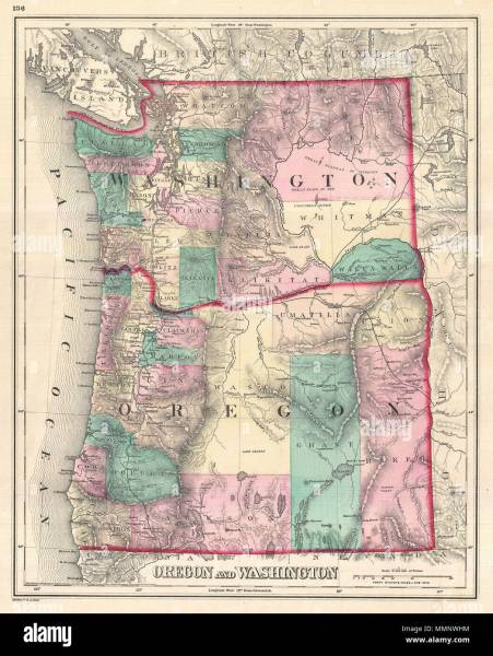 Oregon Map Of Cities Full HD MAPS Locations Another World - North america topographic map