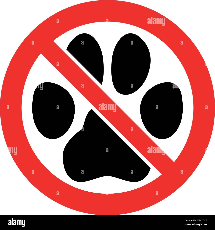 No Pets Allowed Sign Stock Vector Art Amp Illustration