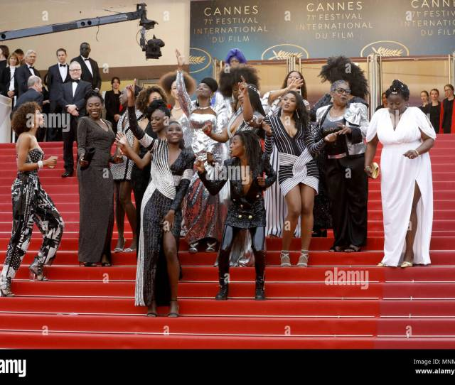 French Comedian And Humorist Shirley Souagnon French Actress Karidja Toure French Actress Assa Sylla French Actress And Miss France 2000 Sonia Rolland