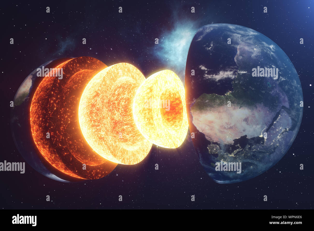 Structure Core Earth Structure Layers Of The Earth The Structure Of The Earth S Crust Earth