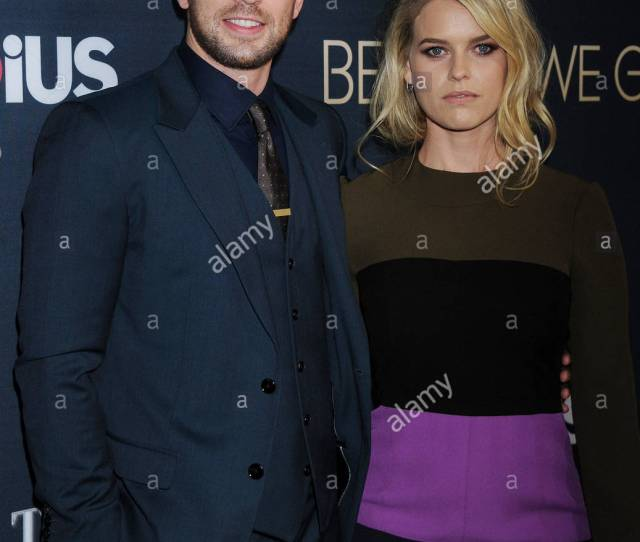 Chris Evans And Alice Eve No Just Jared Usage Before We Go Los Angeles Premiere