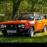 Vintage Fiat Sports Car Stock Photo Alamy