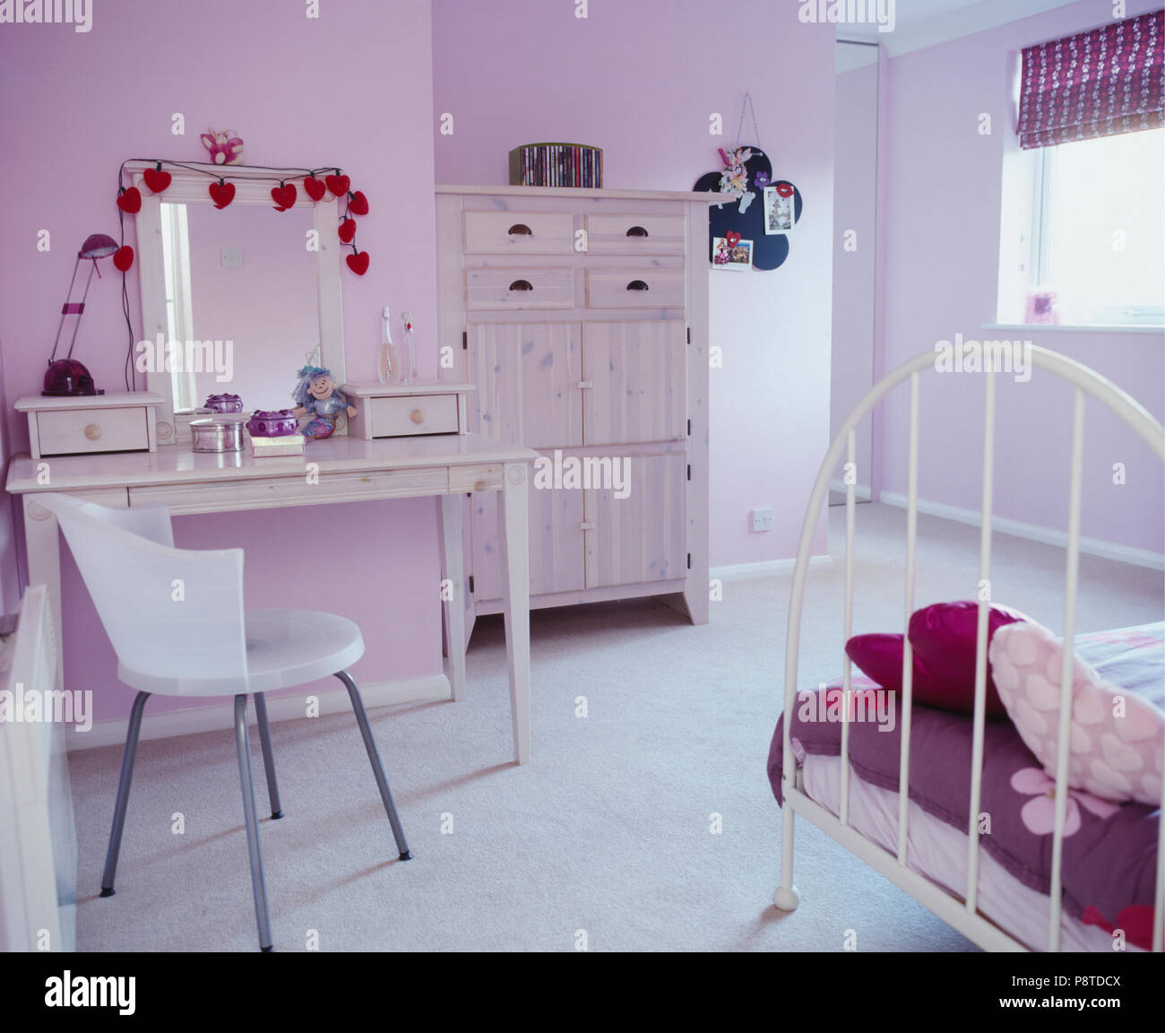 Teenagers Dressing Table Bedroom High Resolution Stock Photography And Images Alamy