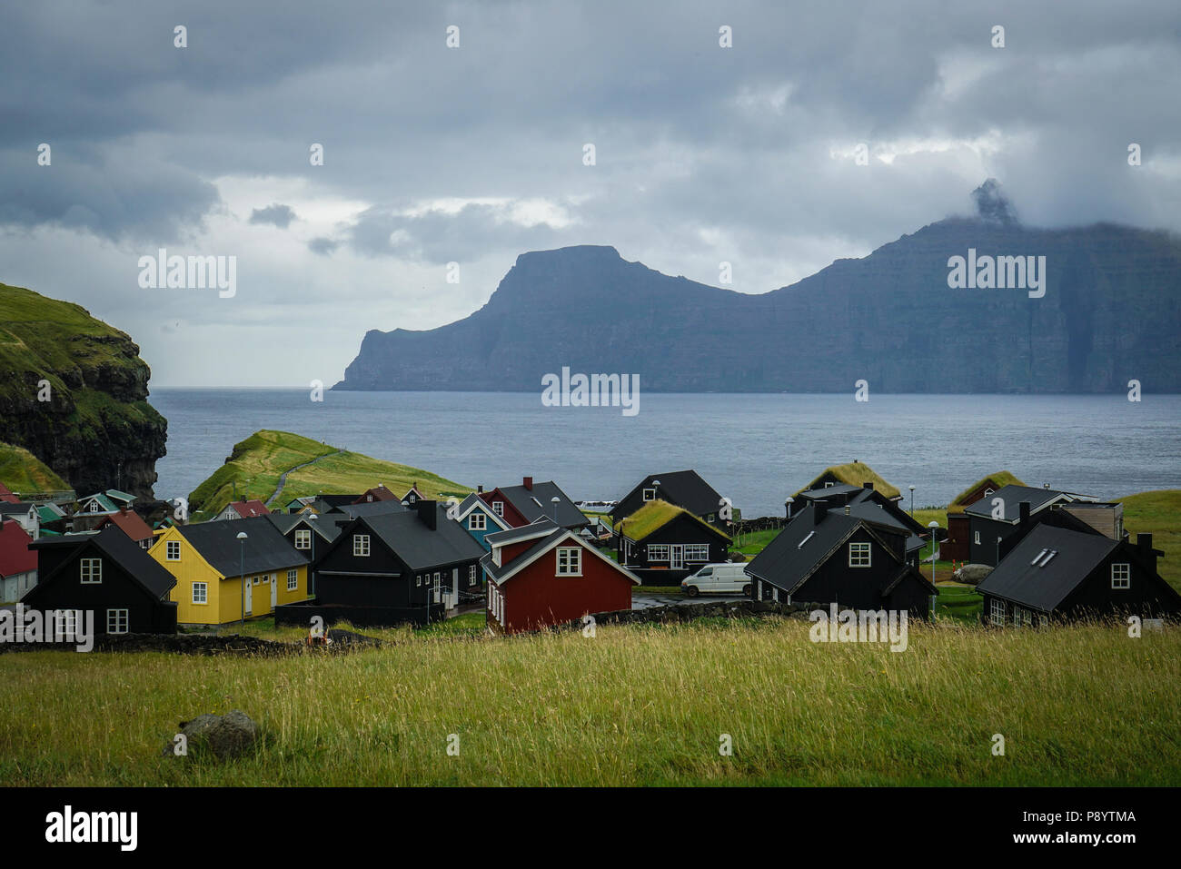 Faroe Islands Holiday Homes High Resolution Stock Photography And Images Alamy