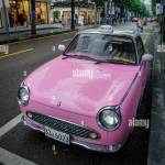 Pink Vintage Car High Resolution Stock Photography And Images Alamy