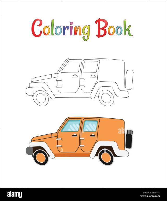 Safari wrangler. Coloring pages for kids Vector illustration eps