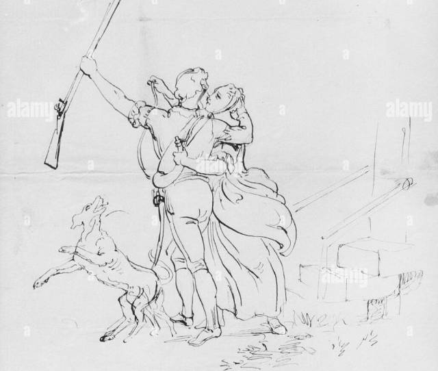 The Soldiers Farewell From Mcguire Scrapbook Artist Emanuel Leutze American Schwabisch Gmund 1816 1868 Washington D C Dimensions  X