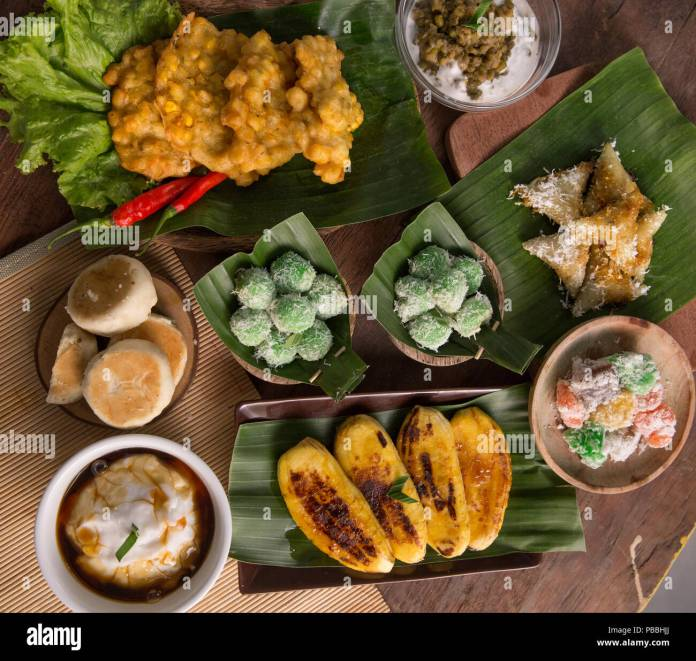 Delicious Traditional Indonesian Culinary Stock Photo Alamy