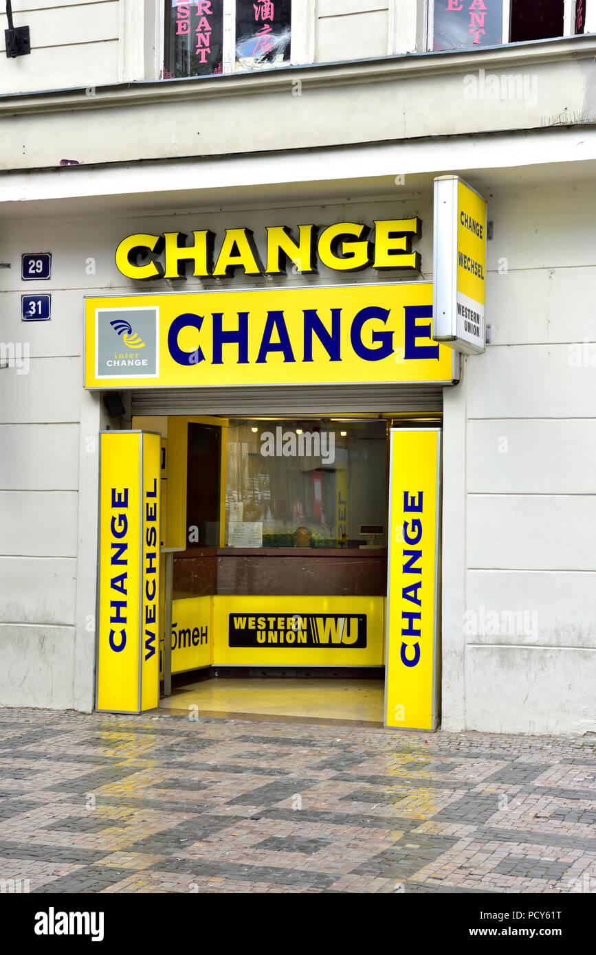 western union bureau de change money exchange