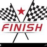 Race Flag Icon Simple Design Race Flag Logo Template Stock Vector Image Art Alamy