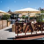 Base Porto An Outdoor Cafe And Cocktail Bar Clerigos Porto Portugal Stock Photo Alamy