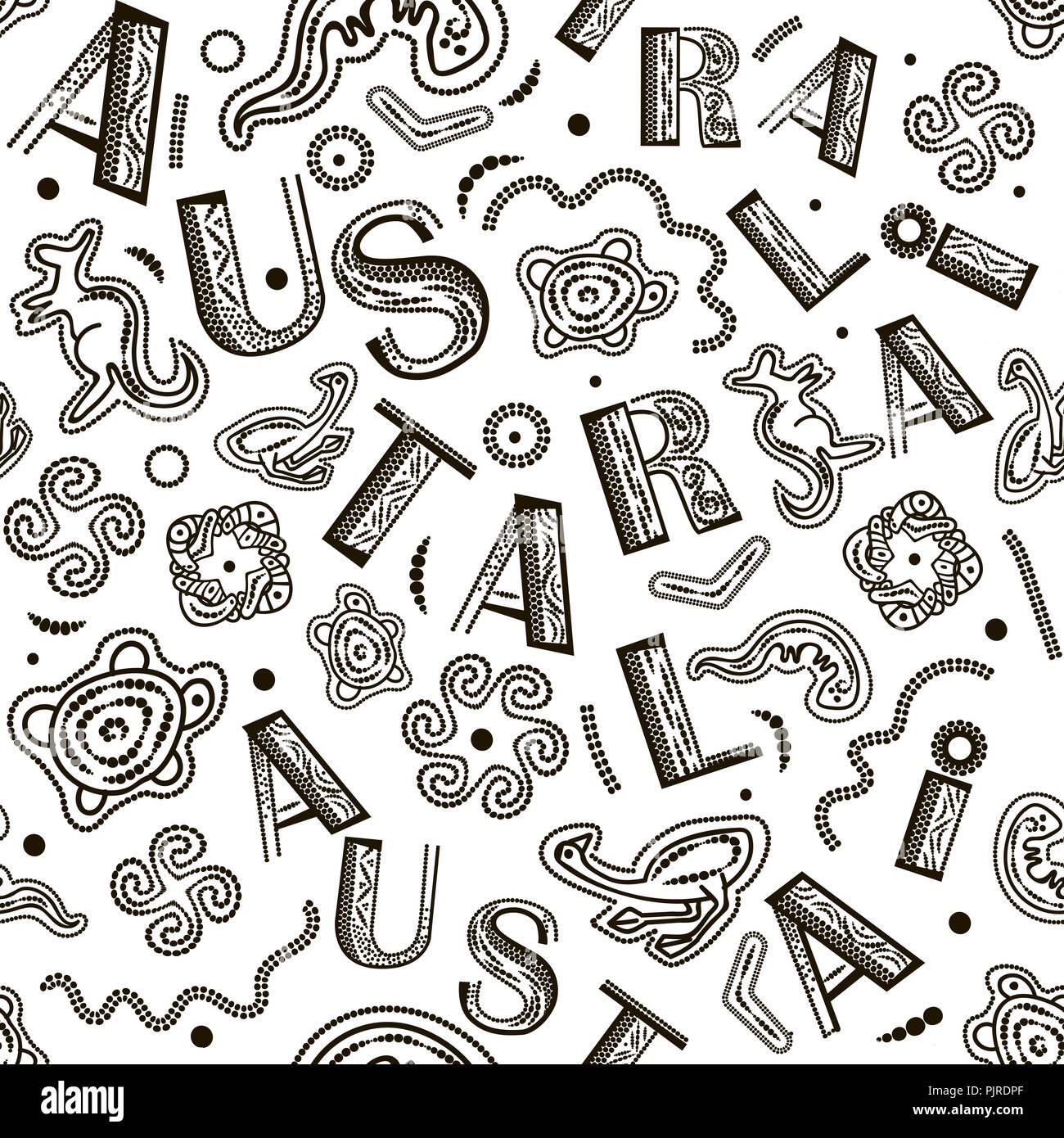 Australian Art Aboriginal Mosaic Stock Photos Amp Australian