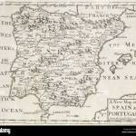 A New Map Of Spain And Portugal From The Latest Observations Geography Anatomiz D Or The Geographical Grammar Being A Short Stock Photo Alamy