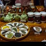 Close Up On Serving Pieces And Tray Of Tea Used In Chinese Tea Ceremony Stock Photo Alamy