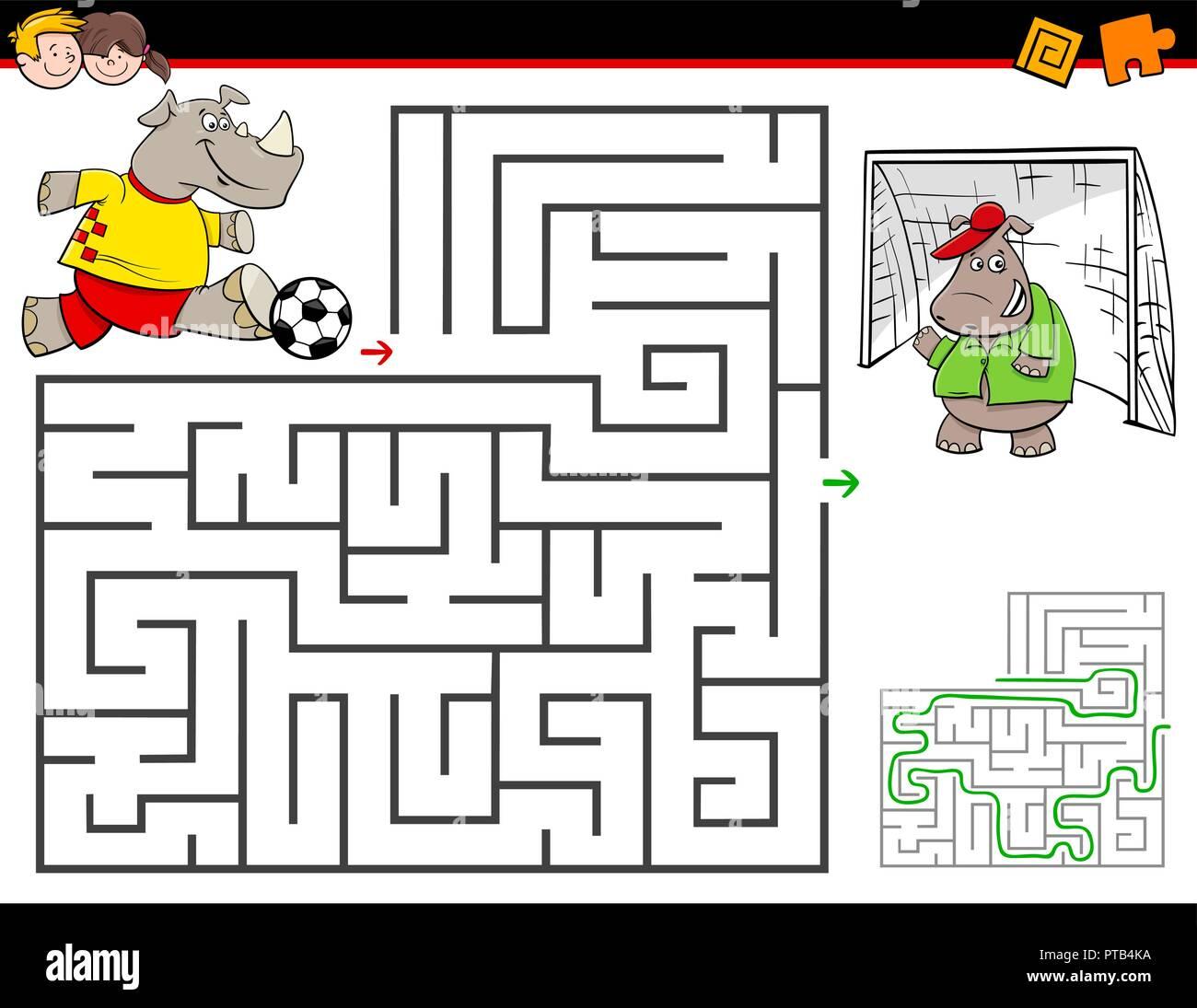 Soccer Worksheet For Preschoolers