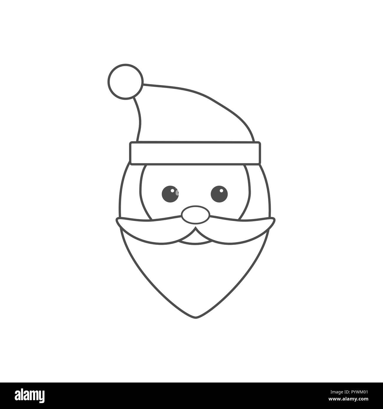 Vector Christmas Design With Santa Claus Illustration Christmas Sale Concept Design Best For Poster Advert Or Social Media Post Stock Vector Image Art Alamy