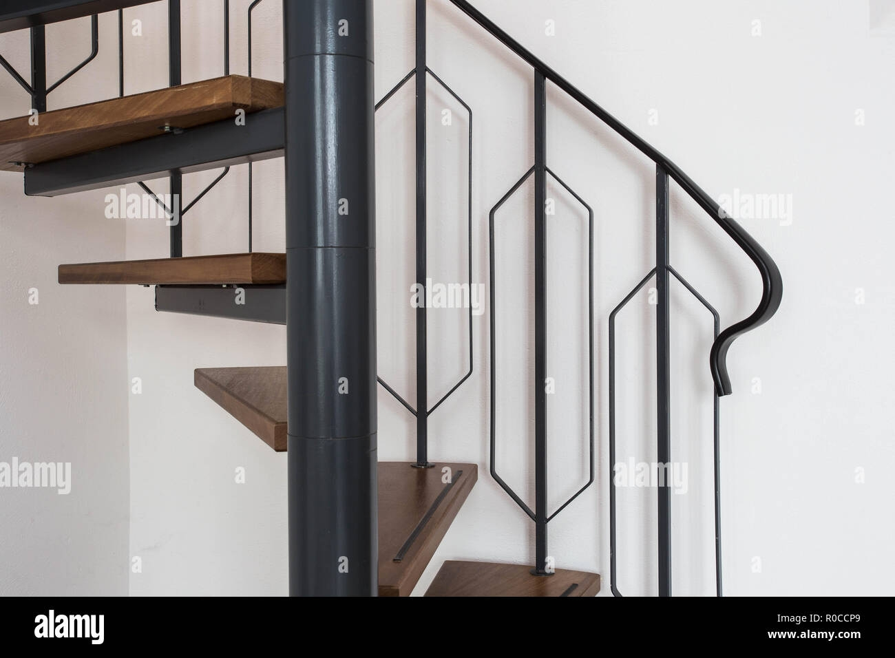 Spiral Staircase High Resolution Stock Photography And Images Alamy | External Spiral Staircase For Sale | Stair Treads | Staircase Ideas | Steel Spiral | Metal Spiral | Staircase Railings