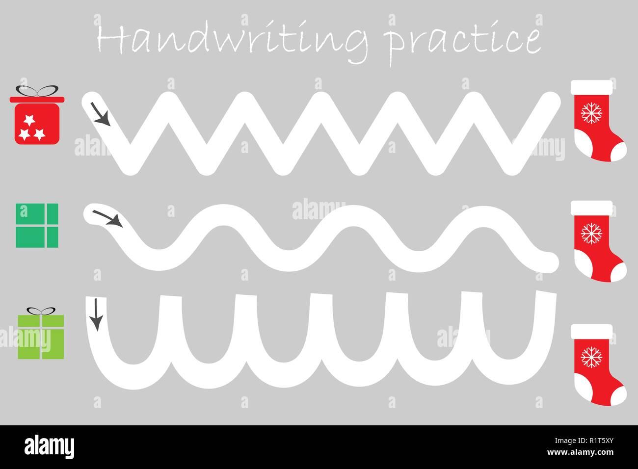 Handwriting Practice Stock Photos Amp Handwriting Practice