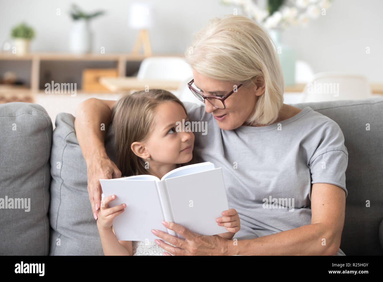 Child Help Grandma Stock Photos Amp Child Help Grandma Stock Images
