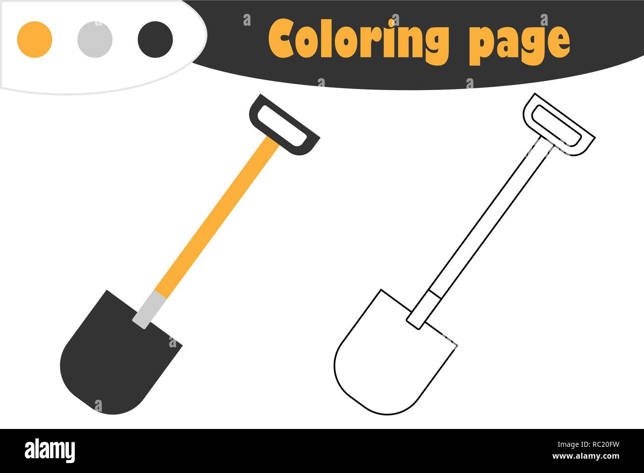 Cartoon Shovel Stock Photos Amp Cartoon Shovel Stock Images
