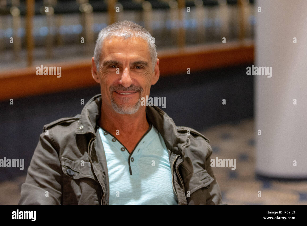 https www alamy com bonn germany may 19th 2018 cliff simon 1962 actor stargate sg 1 at fedcon 27 a four day sci fi fan convention image231717867 html